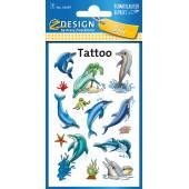 Tatuaże Z-Design - delfiny