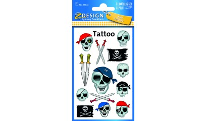 Tatuaże - piraci  AVERY 56632
