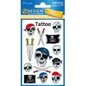 Tatuaże Z-Design - czachy