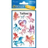 Tatuaże Z-Design - jednorożce