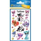 Tatuaże Z-Design - kotki