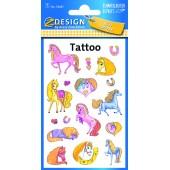 Tatuaże (błyszczące) - kucyki AVERY 56681