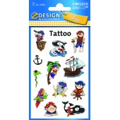 Tatuaże - piraci  AVERY 56683