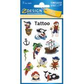 Tatuaże Z-Design - piraci