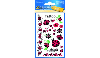 Tatuaże - biedronki AVERY 56735