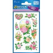 Naklejki Z-Design z kwiatami - róża