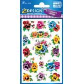 Naklejki Z-Design z kwiatami - bratek