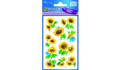 Naklejki z kwiatami - słonecznik AVERY 54103