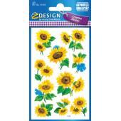 Naklejki Z-Design z kwiatami - słonecznik