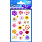 Naklejki z kwiatami  AVERY 54117