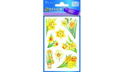 Naklejki z kwiatami AVERY 54119