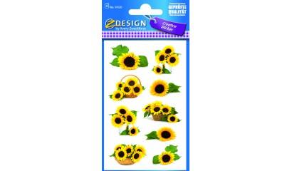 Naklejki z kwiatami - słonecznik AVERY 54120