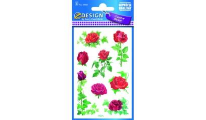 Naklejki z kwiatami - róża AVERY 54261