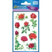 Naklejki Z-Design z kwiatami - róże