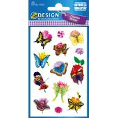 Naklejki Z-Design - motyle i kwiaty
