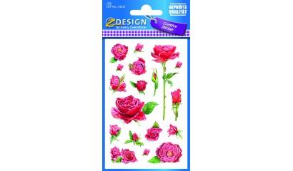Naklejki z kwiatami - róża AVERY 54337
