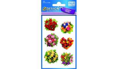 Naklejki z kwiatami - bukiety AVERY 54383
