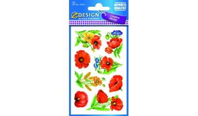 Naklejki z kwiatami  AVERY 54453