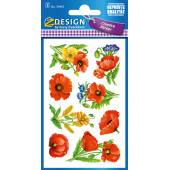 Naklejki Z-Design z kwiatami - maki