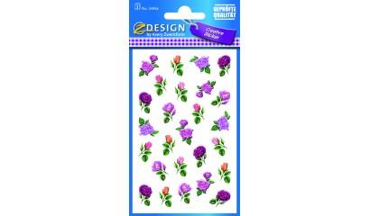 Naklejki z kwiatami AVERY 54456