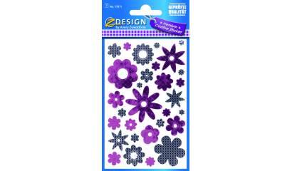 Naklejki - kwiaty AVERY 57871