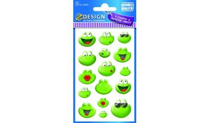 Naklejki papierowe - żaby AVERY 56095