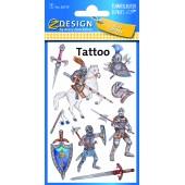 Tatuaże AVERY rycerze 56739