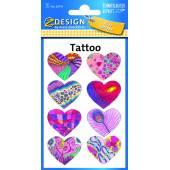 Tatuaże AVERY serca 56741