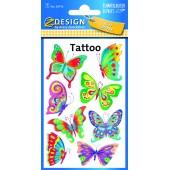 Tatuaże AVERY motylki 56742