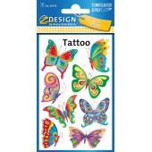 Tatuaże Z-Design - motyle