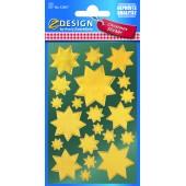Naklejki Z-Design - złote gwiazdy