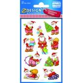 Naklejki świąteczne Z-Design - mikołaj