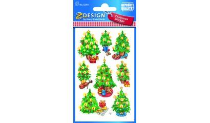 Naklejki świąteczne Z-Design - choinki