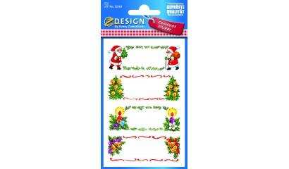 Naklejki bożonarodzeniowe Z-Design - dedykacje