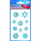 Naklejki transparentne Z-Design - gwiazdki