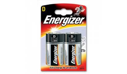 Bateria ENERGIZER alkaliczna LR20 D 1,5V (2szt)