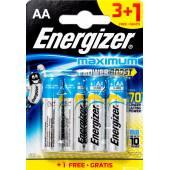 Bateria alkaliczna ENERGIZER Maximum LR06 AA 1,5V (4szt)