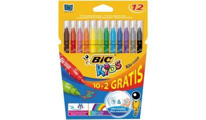 Flamastry BIC Kids Couleur 10+2kol. 841801