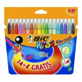 Flamastry BIC Kids Couleur 14+4 kolory  841802