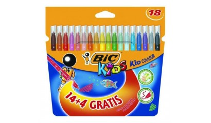 Flamastry BIC Kids Couleur 14+4kol. 841802