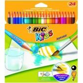Kredki akwarelowe BIC Aquacouleur 24  kolorów  8575633