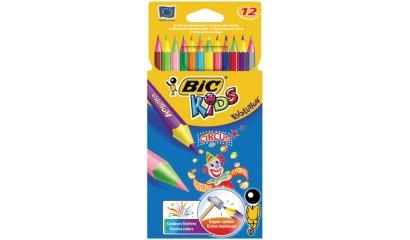 Kredki ołówkowe BIC Kids Evoluton Circus 12kol. 895789
