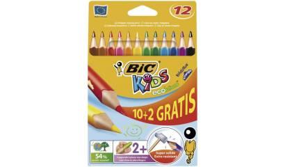 Kredki ołówkowe BIC Kids Evolution Triangle (trójkątne) 10+2kol. 887146