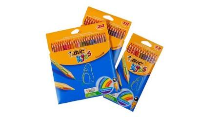 Kredki ołówkowe BIC Kids Tropicolors 18kol. 832567