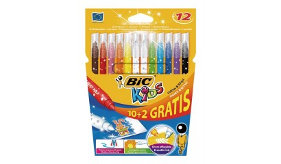 Flamastry BIC Kids Colour Erase 12kol. 880507