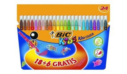 Flamastry BIC Kids Couleur 18+6kol. 841803