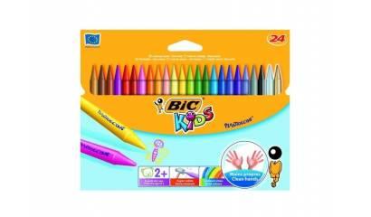 Kredki świecowe BIC Kids Plastidecor 24kol. 829772