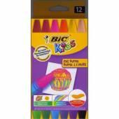 Kredki pastele olejowe BIC Kids OIL PASTEL 12 kolorów 926446
