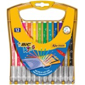 Flamastry BIC Kid Couler Rainbow 12kol. 933964
