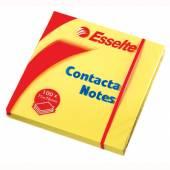 Karteczki samoprzylepne ESSELTE CONTACTA 75x50 żółte (100kart) 83005